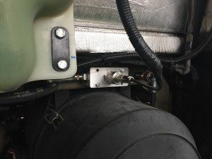 OQ sensor installed on bus 768 - detail