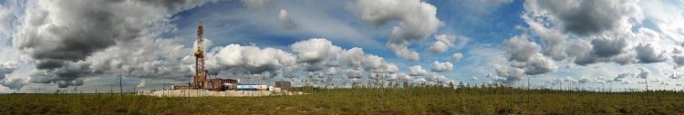 Drilling rig Panorama
