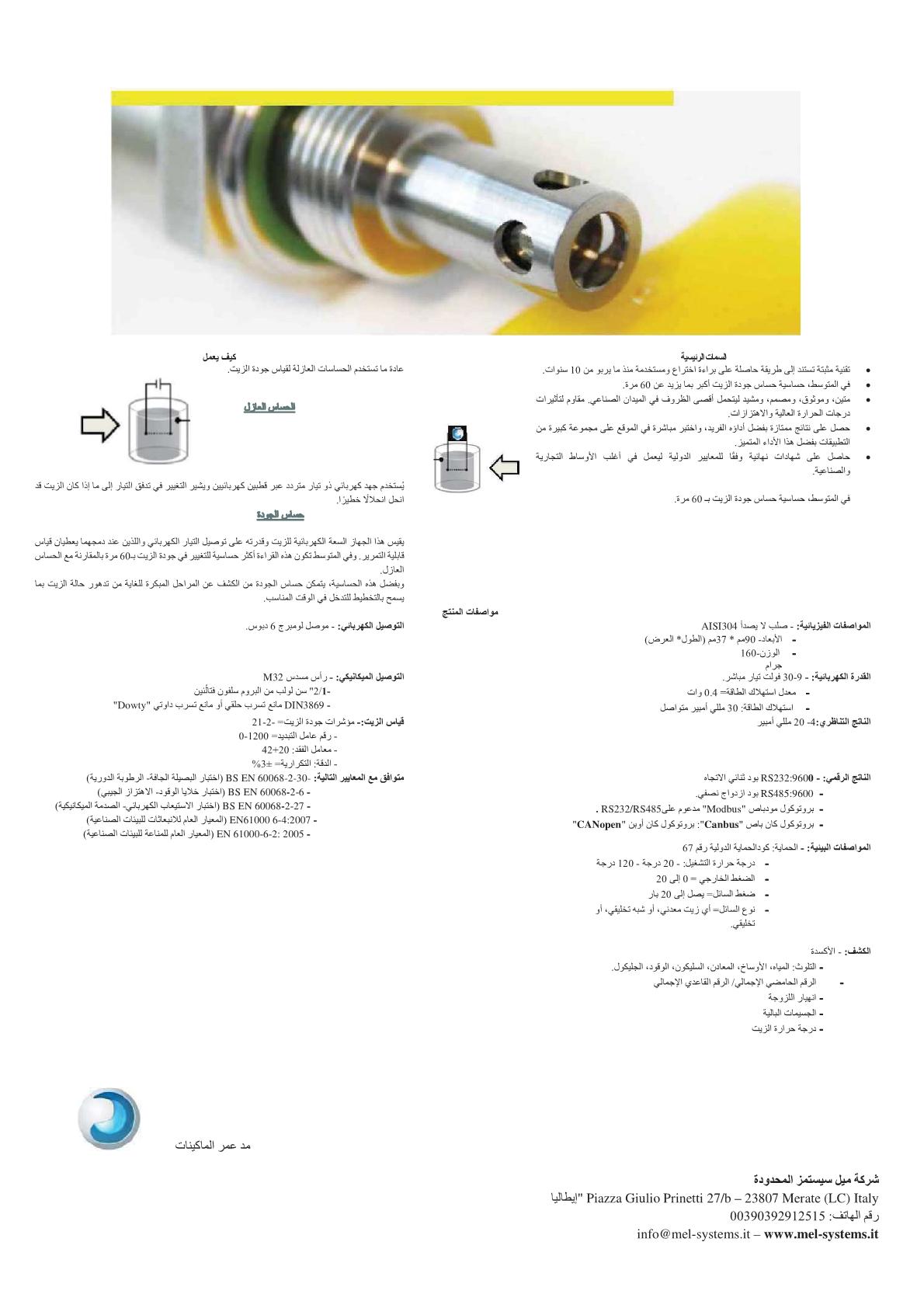OQS Datasheet AR2